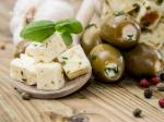 Фета и оливки