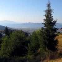 Вид с горы Дикеос