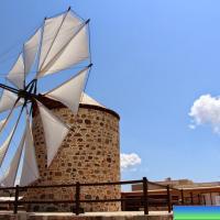 Ветряная мельница в Антимахии