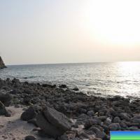 Закат на пляже Парадайз