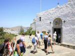 Вход в пещеру Иоанна Богослова на острове Патмос