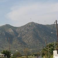 Дорога из Кардамены в Пили