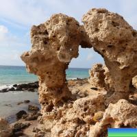 Природная арка возле пляжа Теологов