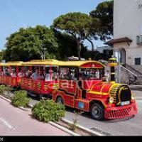 Миниатюрные поезда на острове Кос